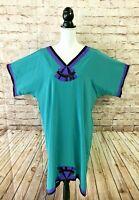 Vintage 70's BILL TICE Sakowitz Kaftan Beaded Hostess Dress Size Small