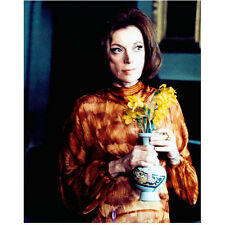 Dark Shadows Grayson Hall as Dr. Julia Hoffman Holding Flowers 8 x 10 Inch Photo
