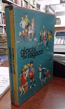 GIOCHI dei RAGAZZI Edizioni Librex 2 volumi illustrati a colori animazione...