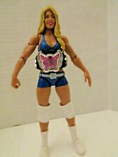 WWE Mattel Basic 18 Kelly Kelly Barbie Blanks WITH DIVAS TITLE BELT ACTION TOY