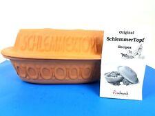 Original SchlemmerTopf Clay Terracotta Rooster Design Dutch Oven Recipes