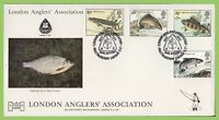 G.B. 1983 River Fish official Havering First Day Cover Walthamstow London E17