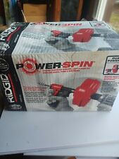 Ridgid 41408 Plumbing Power Spin 25 Ft Power Spin Drain Cleaner