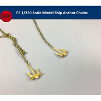 1/350 TMW 20cm Anchor Chains for Battleship Model Kit 2pcs/set