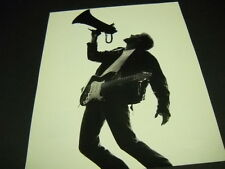 Bryan Adams yelling into megaphone 1991 Promo Poster Ad mint condition