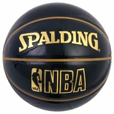 New SPALDING basketball UNDERGLASS No. 7 ball black 74-486Z