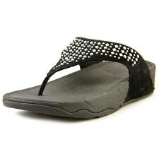 Sandali e scarpe infradito neri FitFlop per il mare da donna
