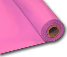 100ft Plastic Buffet /Banquet Roll Wedding Party Table Cover 20 Colours NEW