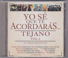 """*Tejano-""""Yo Se Que Te Acordaras"""" -Vol.2- Artists/Tejano Tex Mex Latin CD/SEALED!"""