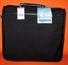 Travelon 8300 Black Ballistic Nylon Men's Flap Over Laptop Briefcase
