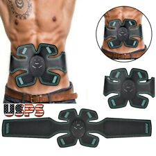 Electric Belt Abdominal Toning AB Arm Vibrate Slimming Exercise Weight Muscle US