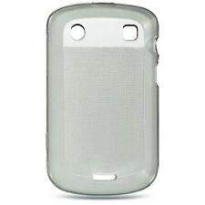For Blackberry Bold 9930 9900 HARD CANDY FLEXI TPU Phone Case ST Smoke