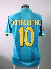 Ronaldinho #10 Barcelona Lejos Camiseta De Fútbol Jersey 2007/08 (L)