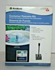 Beckett Container Fountain Kit New CGFK60 7093110 Water Garden NIB