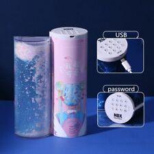 Pencil Case Translucent Quicksand Kawaii NBX Solar Calculator Box School Supplie