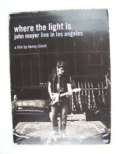 Where The Light Is: John Mayer Live In Los Angeles DVD