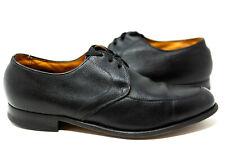 Florsheim Vintage 1960's The Laurel 3 Eyelet Black Leather 21685 Men's Us 10.5 D