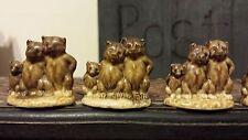 Wade Whimsies - Red Rose Tea (Canada) Nursery Rhyme Series - The Three (3) Bears