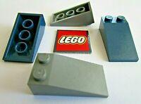 LEGO Slope 18° - 4x2 Bricks (Packs of 4) Design ID 30363
