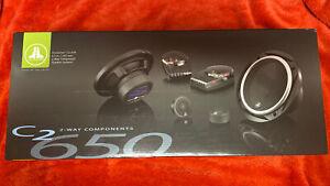 JL Audio C2-650  2way Evolution series component speaker system 6.5 inch