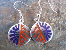 in Mexico Fair Trade New e1024 Hopi Style Earrings Made by Artesanas Campesinas