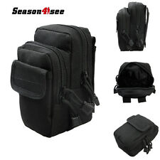 1000D Outdoor Tactical Airsoft Molle Phone Pouch Mini Waist Tool Bag Case Black