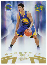 2010-2011 10-11 # 045/100 Panini Absolute Spectrum #136 JEREMY LIN RC Rookie