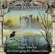 Gruselkabinett 11. Der Untergang des Hauses Usher. CD von Edgar Allan Poe (2006)