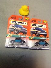 36446 1999 Matchbox #53 Beach '62 Volkswagen Beetle 53/100