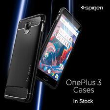 Original Spigen OnePlus 3 / OnePlus 3T Case Rugged Armor Flexable Anti-Drop Case