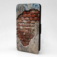 For Apple iPod Touch Flip Case Cover Texture Artwork - T1917