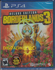 Borderlands 3 Deluxe Edition PS4 PlayStation 4 Brand New Factory Sealed