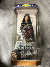 1999 Northwest Coast Native American Barbie Doll of the World New in Box