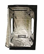 New Design 1.2 X 1.2 X 2m Portable Grow Tent Silver Mylar Hydroponic Dark Room