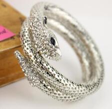 Fashion Jewelry Betsey Johnson Rhinestone Punksu Multi-strand snake bracelets