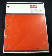 CASE 680CK Series B Open Chamber Engine Loader Backhoe Parts Manual Book Catalog