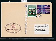 """98044) EASY JET FISA So-LP Genf Schweiz - Berlin 25.4.2009, """"alte"""" GA ab UNO"""