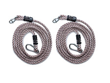 HIKS Tree Swing Conversion / Extension Rope, Fully Adjustable Ideal For Hanging