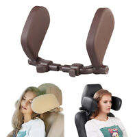 Car Headrest Nap Support,Fitted Seat Pillow Car, Functional Travel Car Acce D2W4