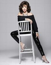 "JOAN COLLINS - 10"" x 8"" Colour Full Length Photograph 2016  #7647"