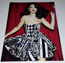 SELENA GOMEZ In-Person Signed 11x14 Sexy Beauty Nice Cleavage Photo Singer w/COA