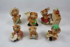 Pendelfin Bunny Rabbit Band, Thumper, Clanger, Rocky, Casanova, Rolly & Bongo