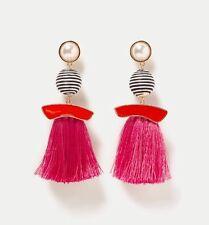 Zara SS2017 Finta Perla Nappa Dangle Earrings-Tutto esaurito