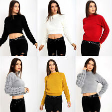 #NEW Women  chunky knitted woman  long  bobble sleeve cardigan TOP