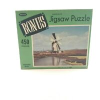 "*VINTAGE*   Whitman Bonus ""Trapani, Sicily"" Jigsaw Puzzle   450 Pieces NEW"
