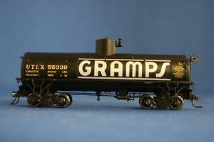 HOn3 BLACKSTONE MODELS GRAMPS #55339 FRAMELESS TANK CAR - BRAND NEW