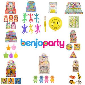 Childrens Birthday Party Bag Fillers Toys Boys Girls Pocket Money Toys x6