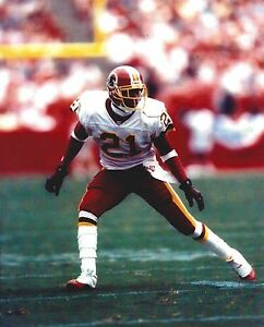 DEION SANDERS 8X10 PHOTO WASHINGTON REDSKINS NFL FOOTBALL