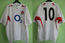 Maillot Rugby Angleterre Wilkinson #10 Nike jersey England Vintage  - XL