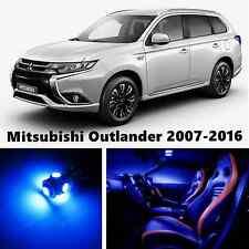 9pcs LED Blue Light Interior Package Kit for Mitsubishi Outlander